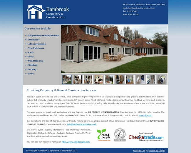 hambrookcarpentry.co.uk Images
